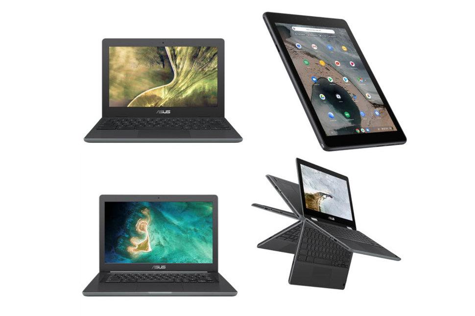 Asus Chromebook New Models: C204, C403 & Flip C214
